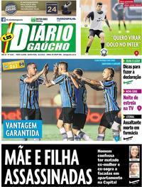 Capa Diário Gaúcho 2018-04-26