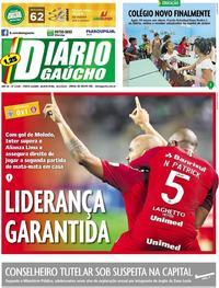 Capa Diário Gaúcho 2019-04-25