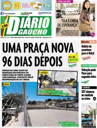 Capa Diário Gaúcho 2019-12-11