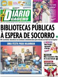 Capa Diário Gaúcho 2019-11-14