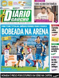 Capa Diário Gaúcho 2019-10-17