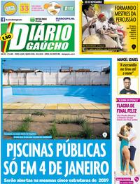 Capa Diário Gaúcho 2019-11-20