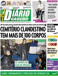 Capa Diário Gaúcho 2019-08-23