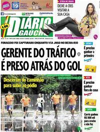 Capa Jornal Diário Gaúcho 25/05/2019
