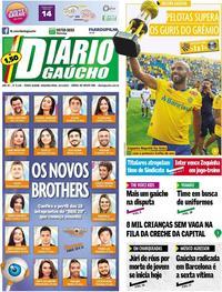 Capa Diário Gaúcho 2020-01-20
