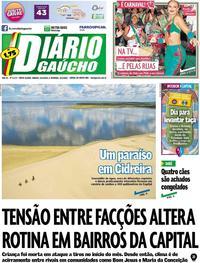 Capa Diário Gaúcho 2020-02-22