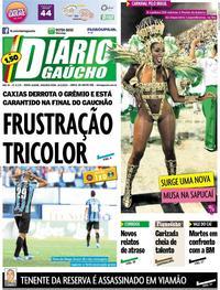 Capa Diário Gaúcho 2020-02-24