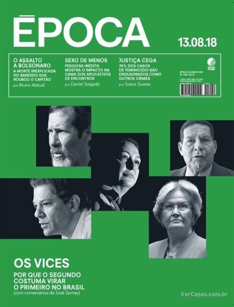 Capa Época 2018-08-11