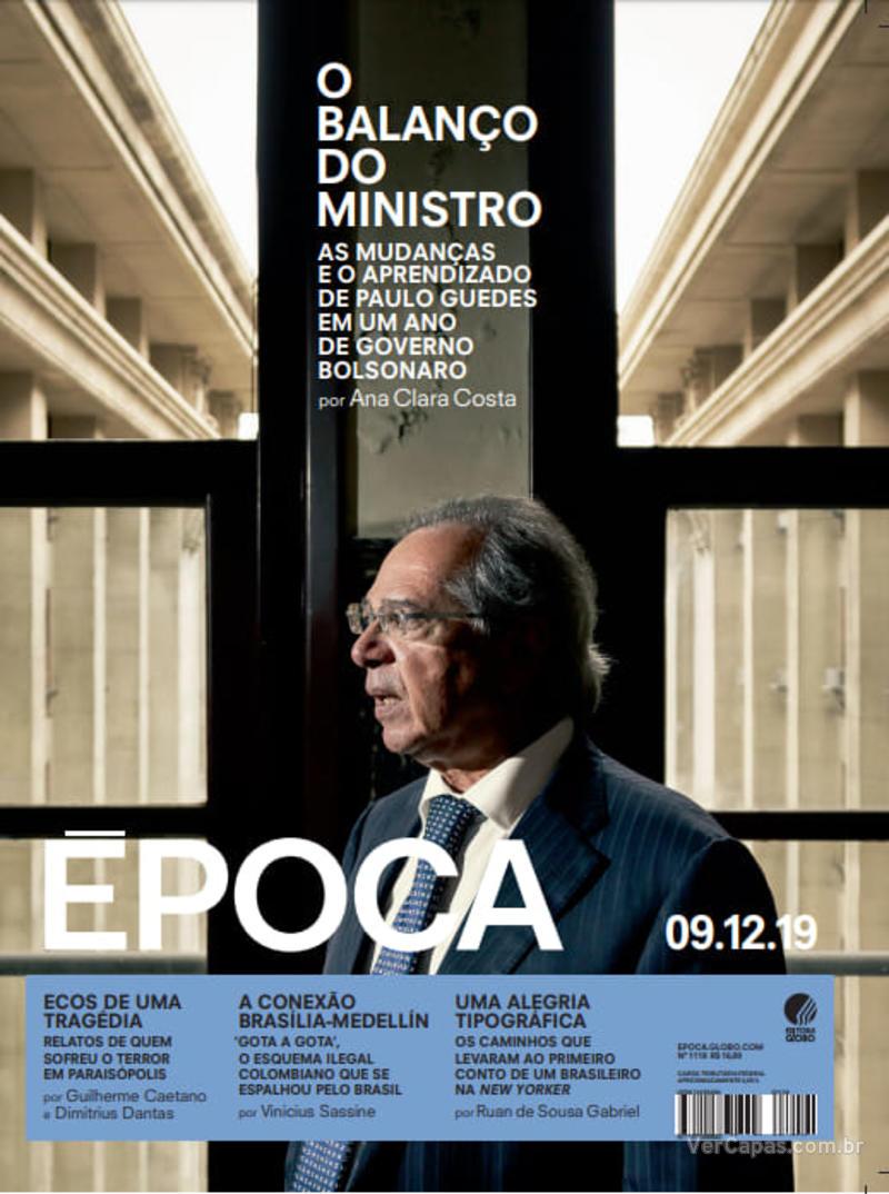 Capa revista Época 07/12/2019