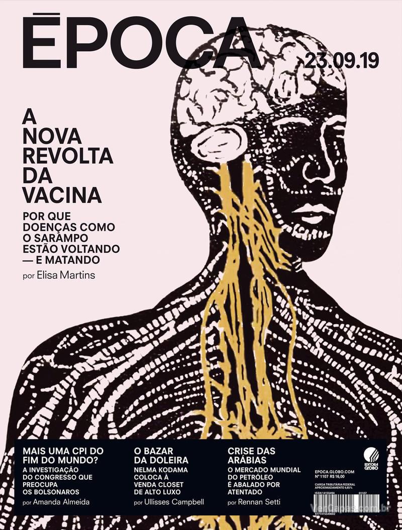 Capa revista Época 21/09/2019