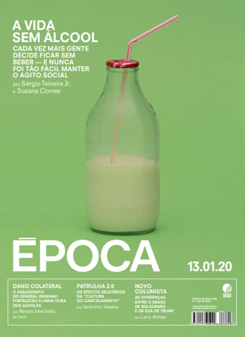Capa revista Época 11/01/2020
