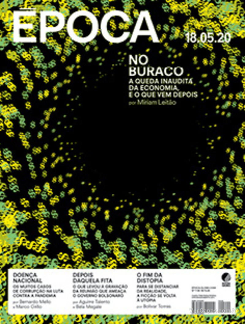 Capa da revista Época 16/05/2020
