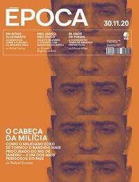 Capa da revista Época 28/11/2020