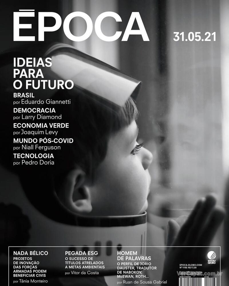 Capa da revista Época 29/05/2021