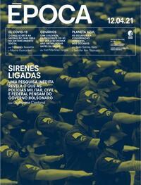 Capa da revista Época 10/04/2021