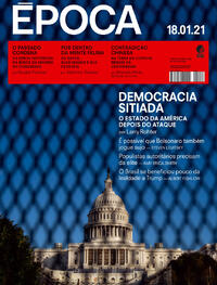 Capa da revista Época 16/01/2021
