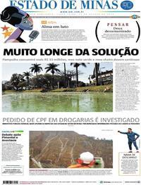 Capa Estado de Minas 2018-08-17