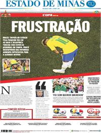 Capa Estado de Minas 2018-06-18