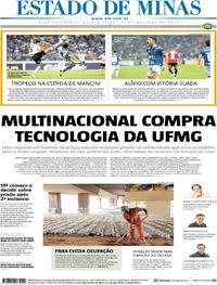 Capa Estado de Minas 2019-10-17