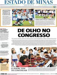 Capa Estado de Minas 2019-06-24