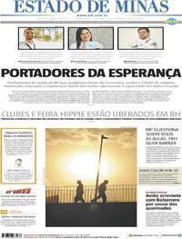 Capa do jornal Estado de Minas 19/09/2020