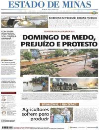 Capa Estado de Minas 2020-01-20