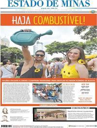 Capa Estado de Minas 2020-02-24