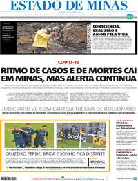 Capa do jornal Estado de Minas 27/09/2021