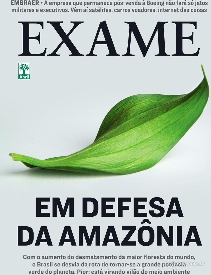 Capa revista Exame 15/08/2019