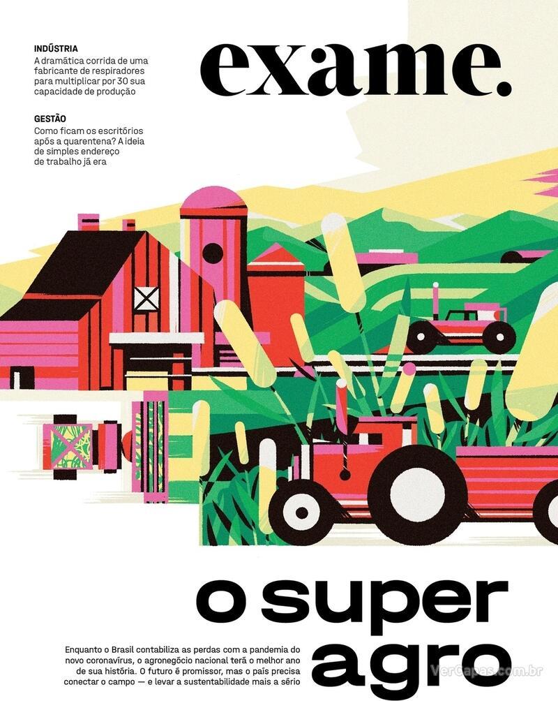 Capa da revista Exame 02/07/2020