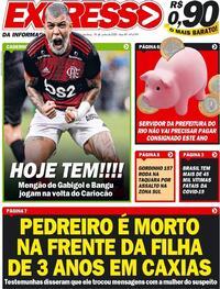 Capa do jornal Expresso da Informação 18/06/2020