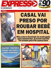 Capa do jornal Expresso da Informação 24/06/2020