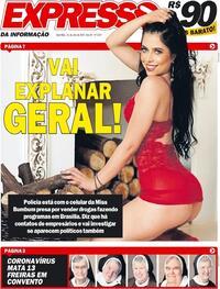 Capa do jornal Expresso da Informação 24/07/2020