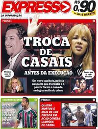 Capa do jornal Expresso da Informação 26/08/2020