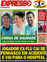 Capa do jornal Expresso da Informação 28/06/2020