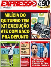 Capa do jornal Expresso da Informação 17/04/2021