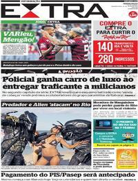 Capa Jornal Extra