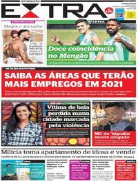 Capa do jornal Extra 24/10/2020