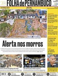 Capa Folha de Pernambuco 2018-04-25