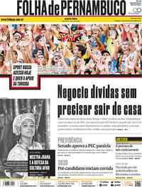 Capa Folha de Pernambuco 2019-11-20
