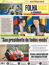 Capa Jornal Folha de Pernambuco 25/05/2019
