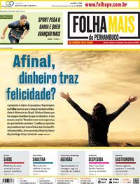 Capa do jornal Folha de Pernambuco 03/10/2020