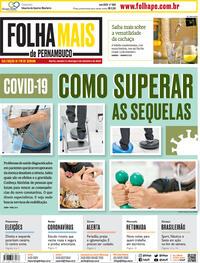 Capa do jornal Folha de Pernambuco 05/09/2020