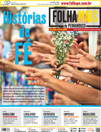 Capa do jornal Folha de Pernambuco 05/12/2020
