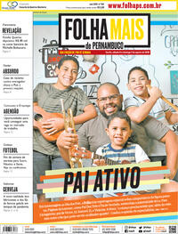 Capa do jornal Folha de Pernambuco 08/08/2020