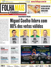 Capa do jornal Folha de Pernambuco 09/11/2020