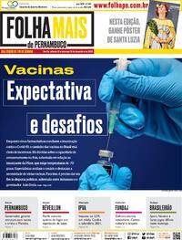 Capa do jornal Folha de Pernambuco 12/12/2020