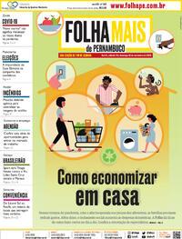 Capa do jornal Folha de Pernambuco 19/09/2020