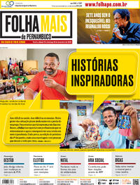 Capa do jornal Folha de Pernambuco 19/12/2020