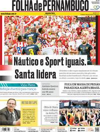 Capa Folha de Pernambuco 2020-01-20